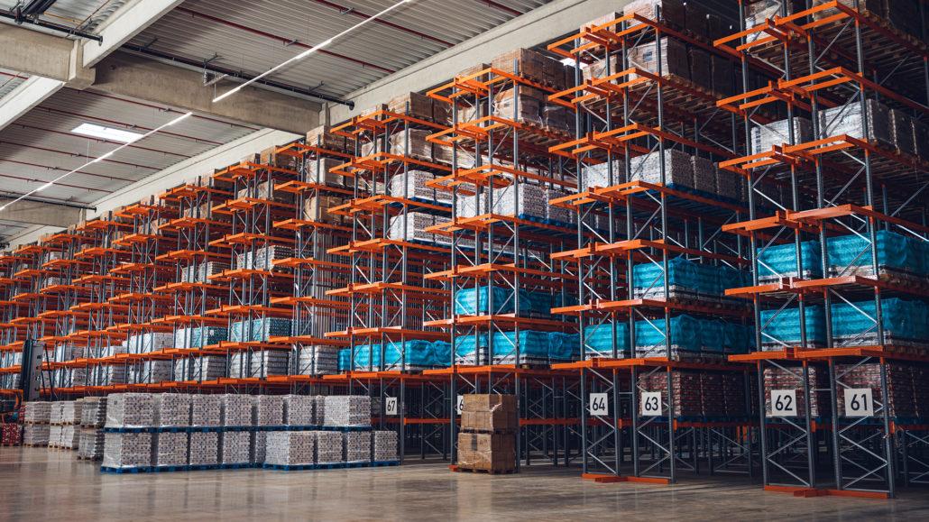 Stenkamp Logistik Borken Duisburg Lebensmittel Hochregal Lagerung Transport