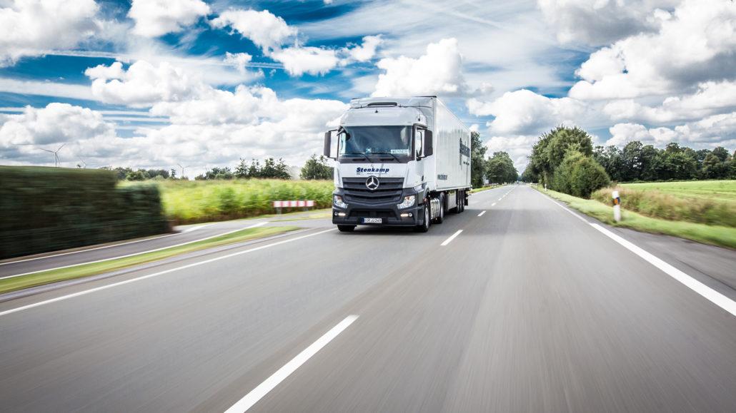 Stenkamp Logistik Borken Duisburg Lebensmittel Lagerung Transport
