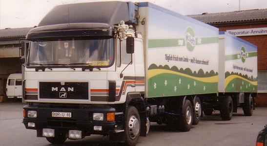 1981-1985 Stenkamp Logistik Borken Duisburg Lebensmittel Lagerung Transport