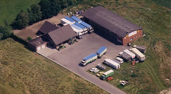 1986-1990 Stenkamp Logistik Borken Duisburg Lebensmittel Lagerung Transport