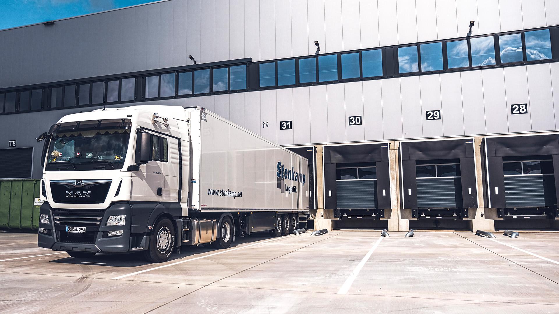 Stenkamp Logistik Dienstleister Borken Duisburg Lebensmittellogistik Lagerung Transport