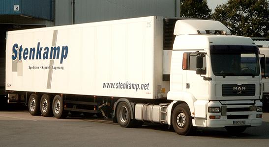2003-2010 Stenkamp Logistik Borken Duisburg Lebensmittel Lager Transport