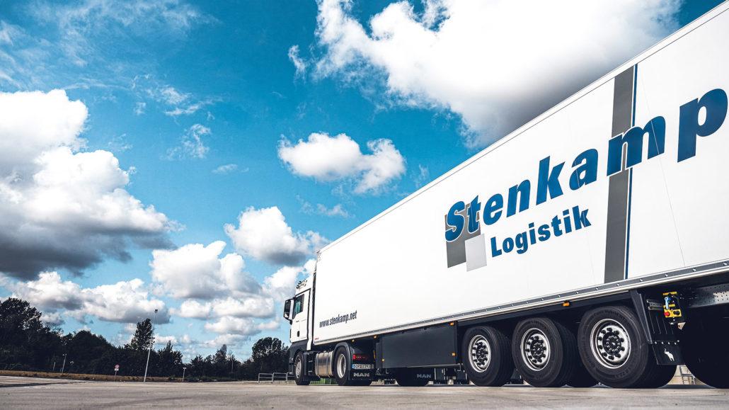 Fuhrpark Stenkamp Logistik Borken Duisburg Lebensmittel Lager Transport