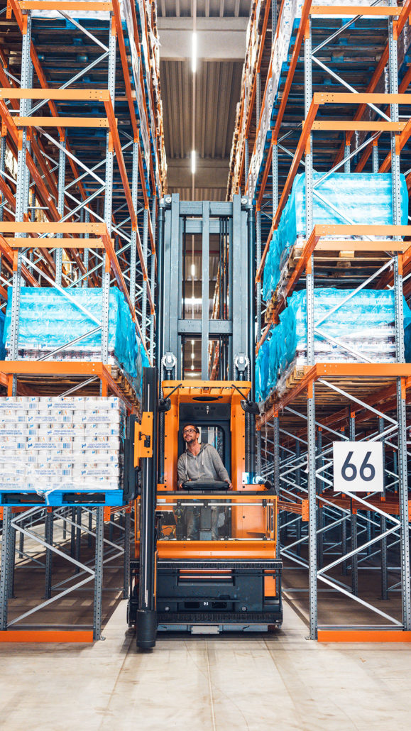 Lagerung RFZ Stenkamp Logistik Borken Duisburg Lebensmittel Lager Transport