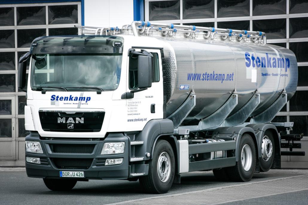 Stenkamp Transporte LKW Fahrt Münsterland (16 von 23)