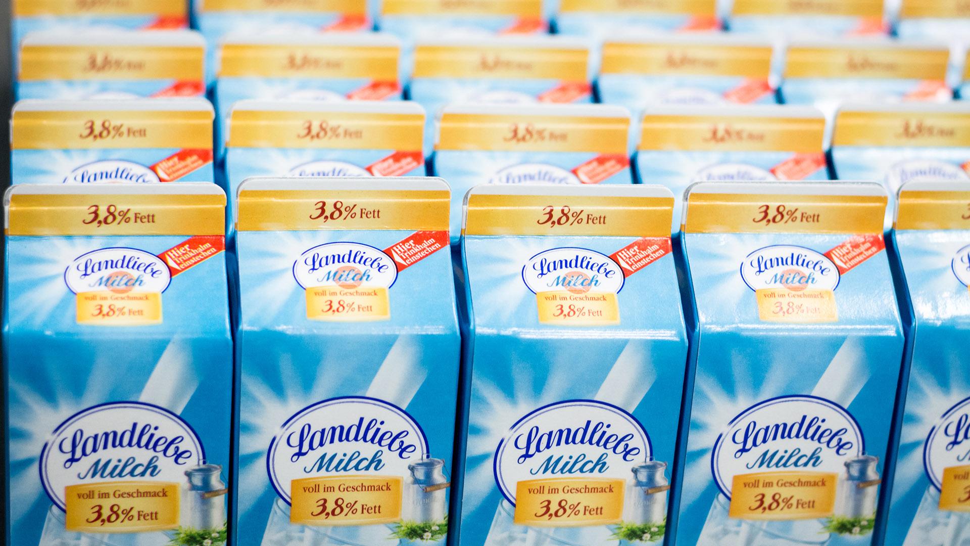 Stenkamp Milchtüte Schulmilch bestellen Logistik Milchbestellungen Borken Duisburg Lebensmittel Lager Transport