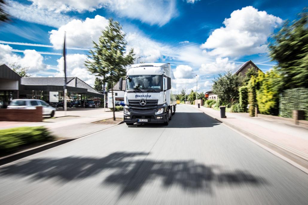 Stenkamp Transport LKW Fahrt Münsterland (16 von 23)