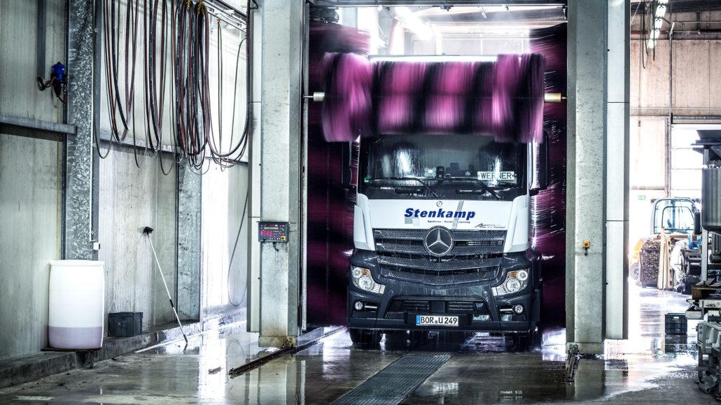 Stenkamp Werkstatt Waschanlage LKW Logistik Borken Duisburg Lebensmittel Lager Transport